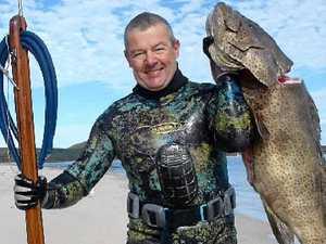 Dieter Danowski spearfishing vid 1
