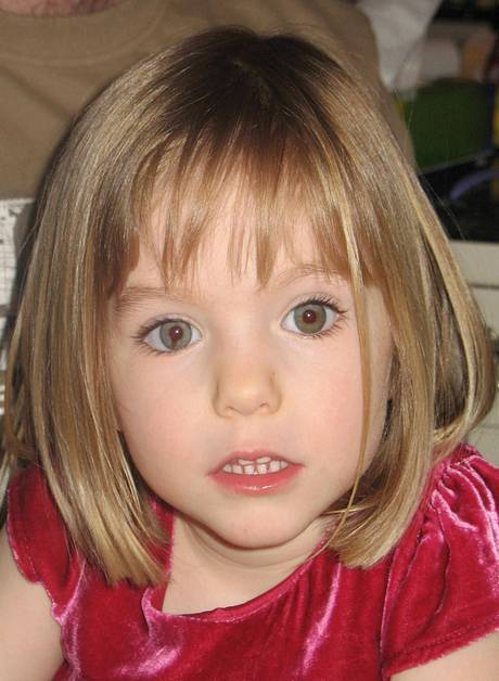 Madeleine McCann, who disappeared in the Praia de Lux resort in Portugal.