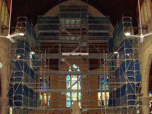 St Josephs Cathedral restoration