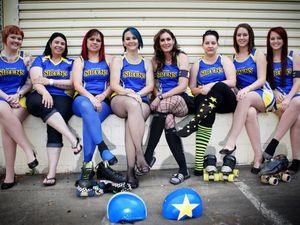 Cap Coast Derby Dolls put on their skates for a good cause