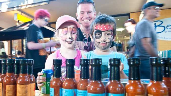 The iconic Sawtell Chilli Festival is on today from 10am to 3pm. All the action takes place under the fig trees in First Ave.