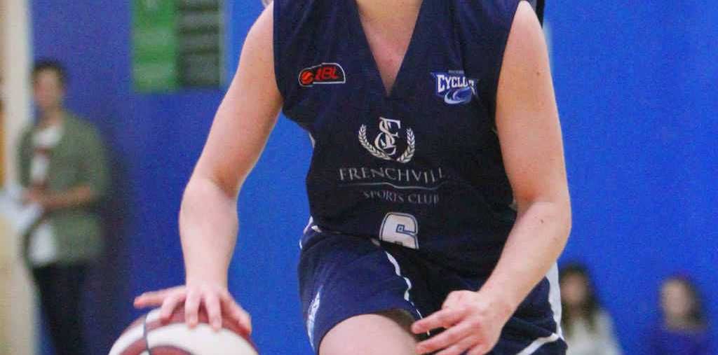Cyclones player Grace McDougall is hoping for a strong performance in tonight's QBL clash with Gladstone.