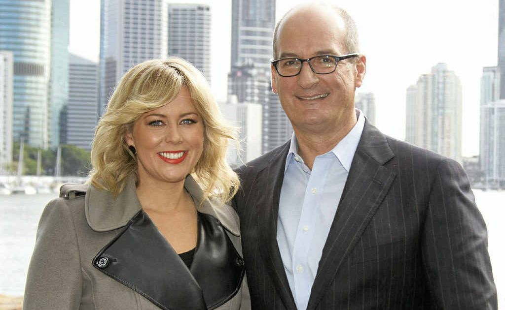 Channel 7's new Sunrise team Samantha Armytage and David Koch.