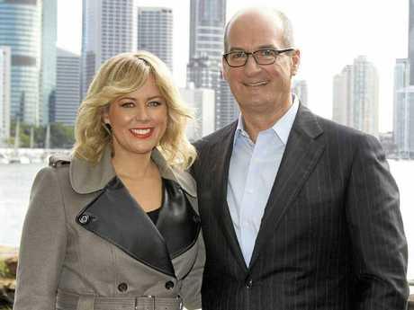Channel 7's new Sunrise team Samantha Armytage and David Koch.