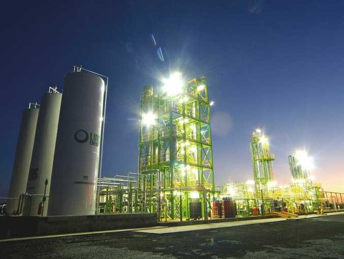 Linc Energy's pilot plant near Chinchilla.