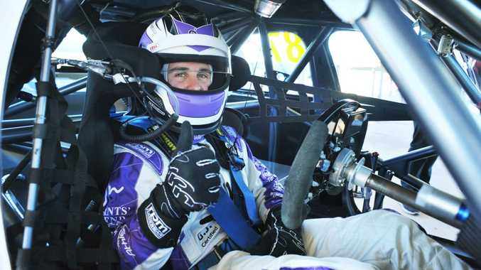 Racer Ash Walsh could only manage a 10th place finish in the latest round of the V8 Development Series.