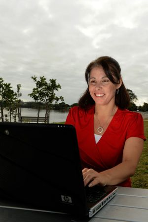 Melissa Groom launched the business network.
