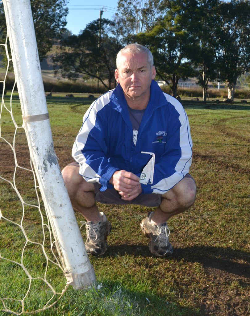 Paul Albertini from The Lismore Thistles Soccer Club. Photo Contributed