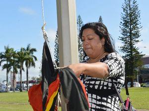 Flag raising puts focus on NAIDOC week