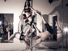 Pure Pole dancers at the Toowoomba pole party at Mind Body Pole.