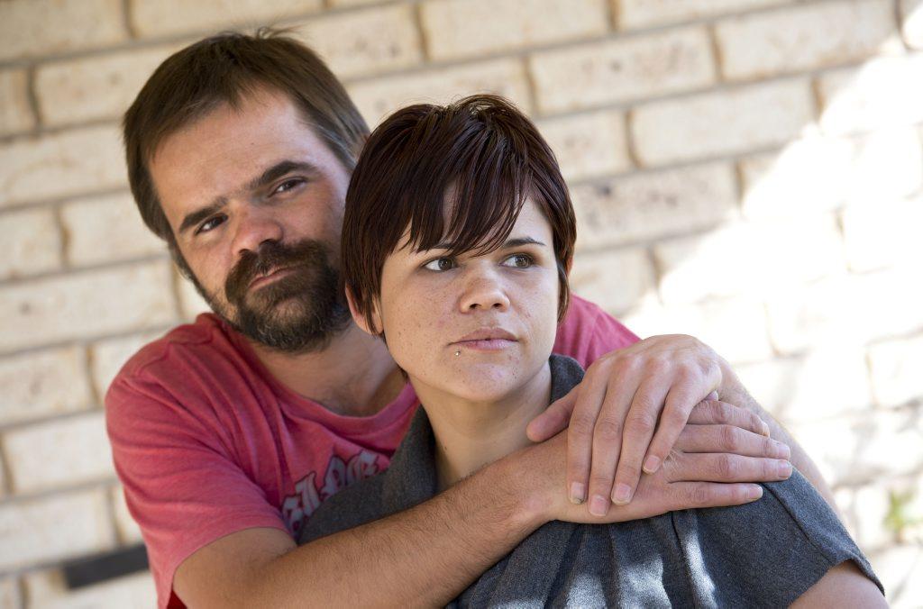 Glen and Kayleen Widgell, brother and sister of Caroline Widgell.