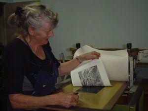 Workshops at new printmaking facility at M'boro gallery