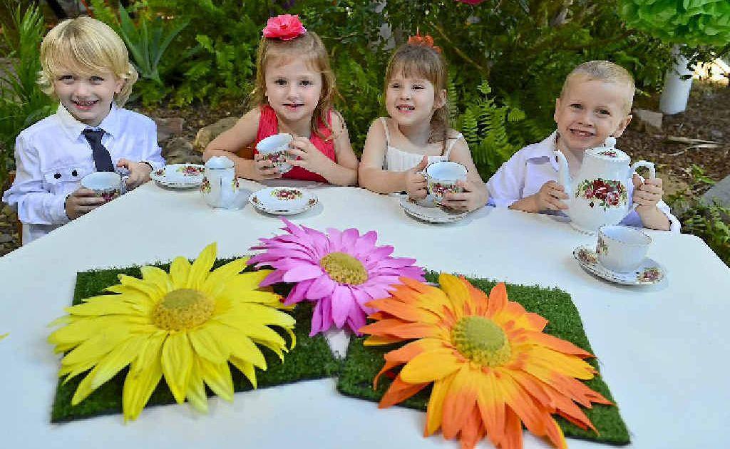 SPRING FUN: The children of Koolyangarra Kindergarten will help host a spring garden party ladies afternoon in September.