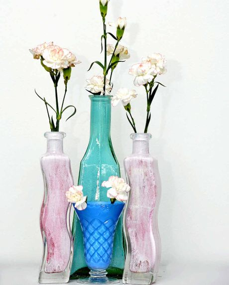 Beautiful Vases Created After Visiting Op Shop Sunshine Coast Daily