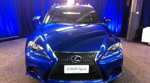 The new Lexus IS.