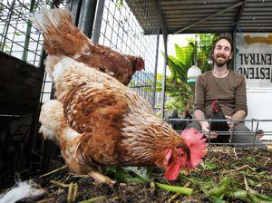 Rob's got a farm in his backyard