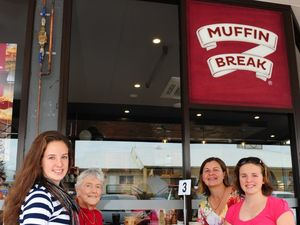 Muffin Break opening at Gladstone Square Shopping Centre