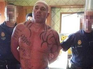 British fugitive caught hiding naked in secret panic room
