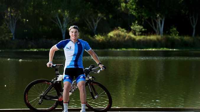 INTERNATIONAL GOALS: Springfield Lakes triathlete Liam Bromilow is preparing to compete in London.
