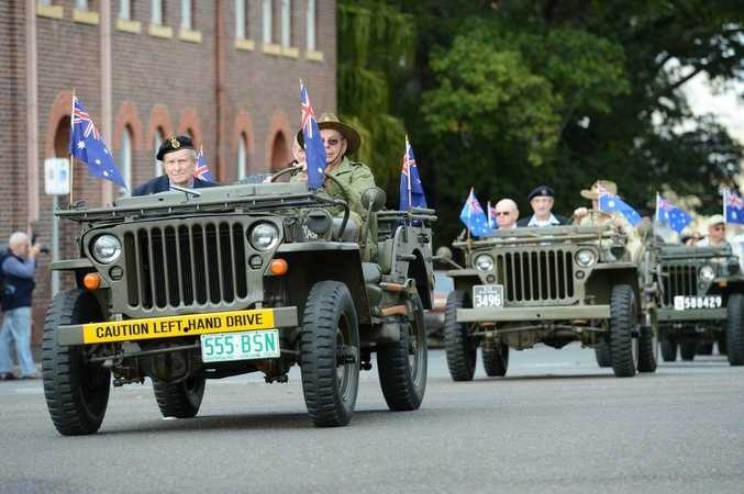 Ipswich honours the city's armed forces reservists with a special parade and recognition ceremony on Saturday. Photo: Sarah Harvey / The Queensland Times