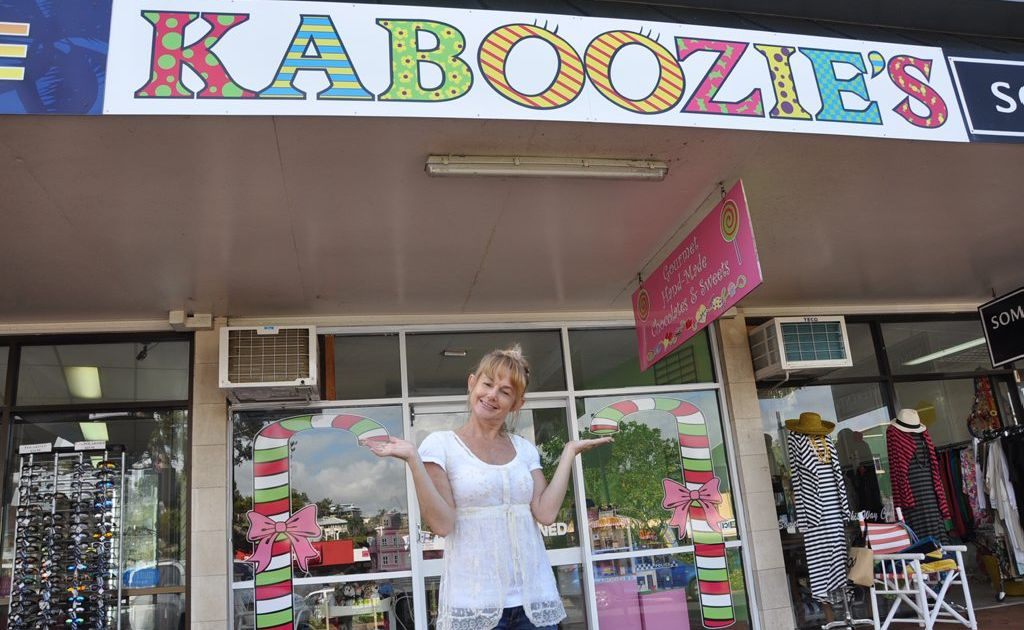 """A new car park in the Yeppoon beachfront area would give Suzie from Kaboozies that """"hit""""."""