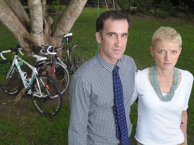 Ipswich couple Michael and Sally McAuliffe are taking part in the Tour de Cure cycling event next month to raise money for cancer research and awareness.