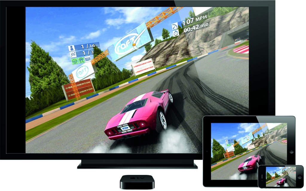 The Apple TV device takes gaming to a whole new level.