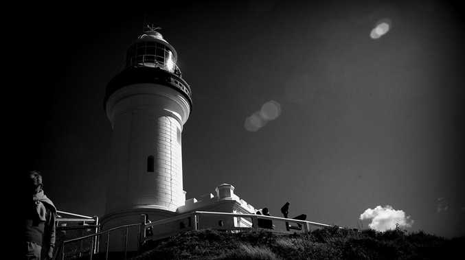 An image of the Cape Byron lighthouse posted to The Northern Star's Facebook page.