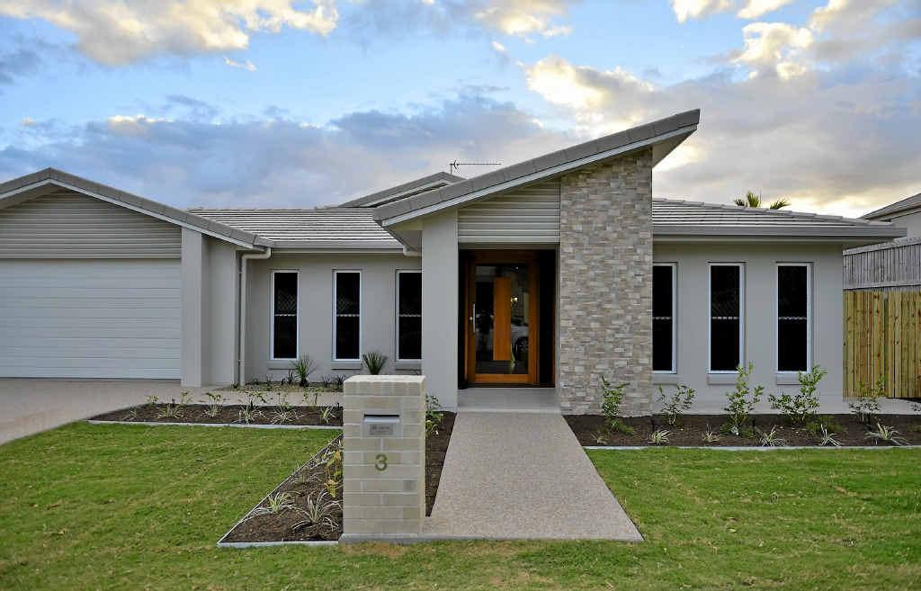 CAPTURES BREEZES: Gladstone's Craig Price Coastal Homes' new display house at 3 Scorpius Pl, Telina.