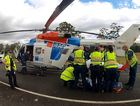 The RACQ CareFlight Rescue Helicopter flew to the aid of an 82-year-old man at Mt Mee.