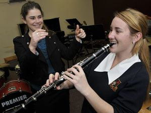 Going from high school band to world's largest orchestra