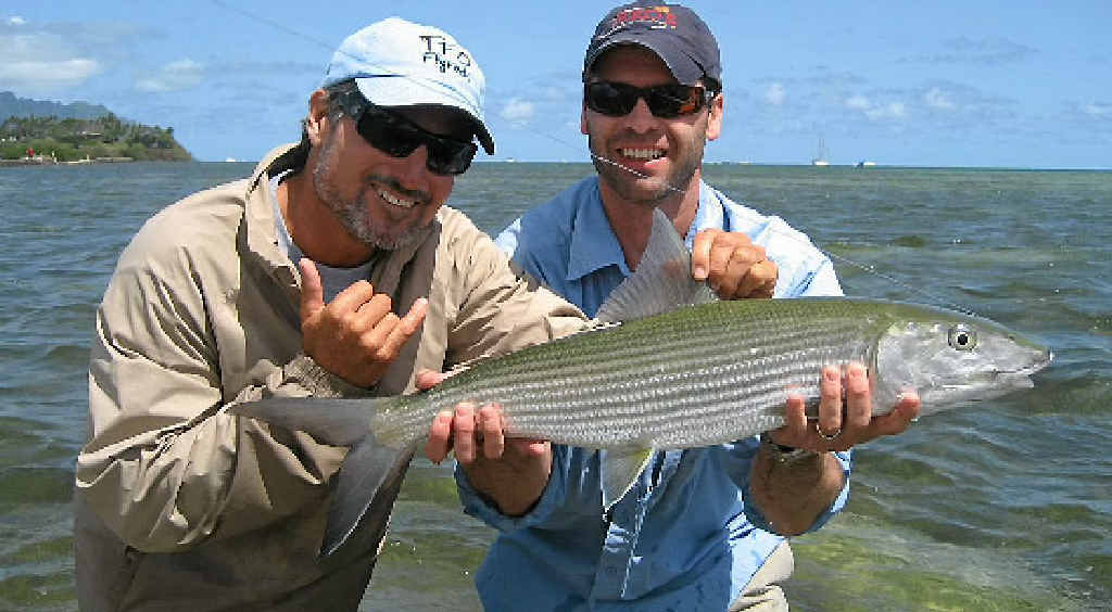 HOLY GRAIL: One of the world's most sought-after sport fish is the bonefish and they are here in the Gladstone region if you know where to look.