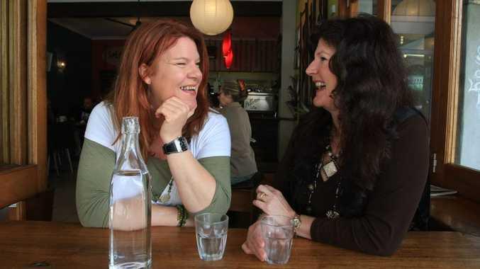 Natascha Wernick (left) and Toni Zuschke, in Murwillumbah.