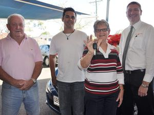Yeppoon grandmother jumping for joy over Toyota win