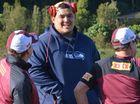 Maroons marvel at size of 'NFL Monstar' Jesse