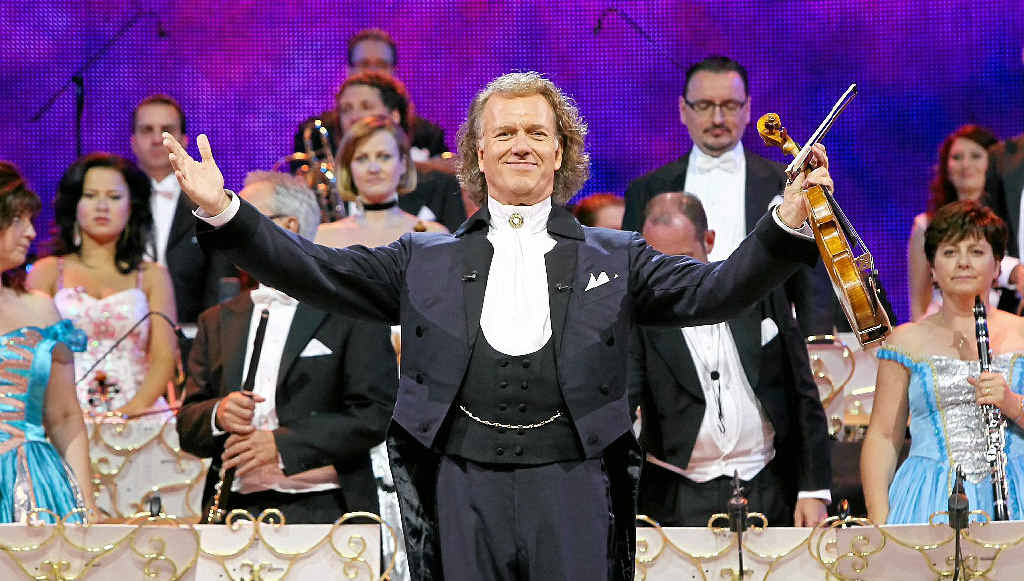 HARMONIOUS: André Rieu's annual concert series will be screened on July 14 at Birch Carroll and Coyle, Maroochydore.