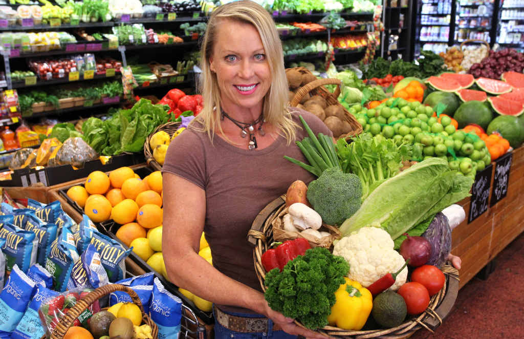 FRESH ADVICE : Lisa Curry will be talking at Farm Fantastic about healthy eating and weight loss.