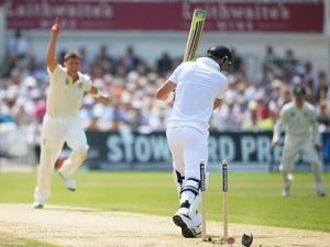 Bell on verge of century at close of play on Ashes Day Three