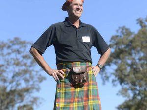 Veteran golfer gladly dons a kilt