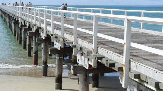 Council is researching the option of a restaurant or hotel using the Urangan Pier.
