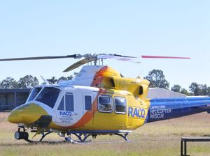 72-year-old man airlifted to hospital following quad crash