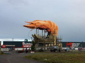 Big Prawn's tail unveiled!
