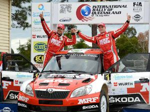 Finnish driver seizes rally win