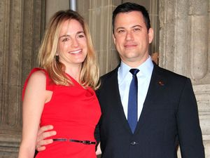 "Jimmy Kimmel cried but ""didn't scream"" at daughter's birth"
