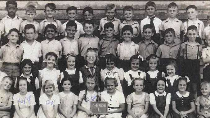 Do you know any of the unidentified children in this photo? They attended Mackay Central State School about 1947?