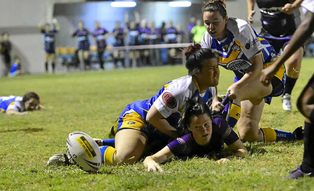 Gladstone outgunned Yeppoon in the women's rugby league grand final.