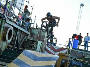 BMX riders leap into rehearsals as Boomtown debut nears