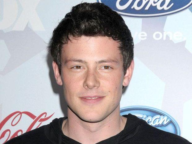Glee star Cory Monteith.