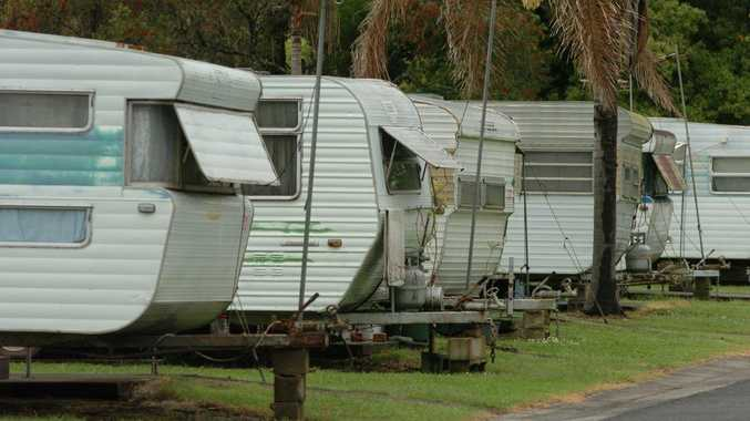 Caravan parks will be subject to new laws if a draft bill is passed in the NSW Parliament.