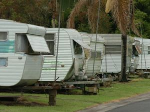 Cooloola caravan park tenant booted over assault